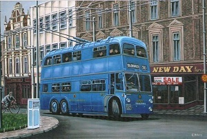 Bloxwich trolley bus