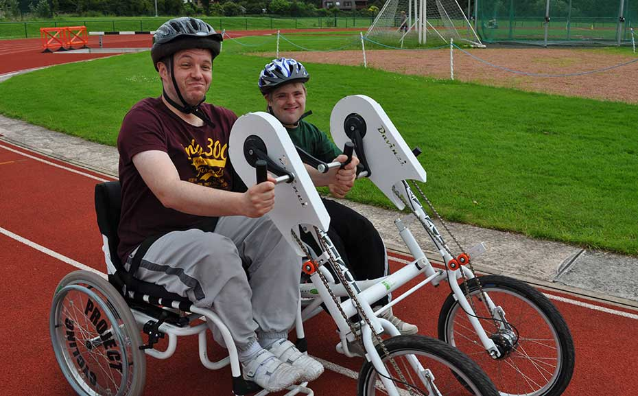 Inclusive cycling at Robin Park